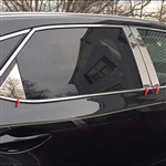 Lexus RX350 Chrome Pillar Post Trim, 2016, 2017, 2018