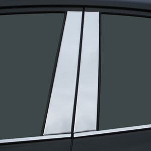 Toyota Prius Chrome Pillar Post Trim, 2016