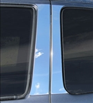 Toyota Tacoma Chrome Pillar Post Trim, 2016, 2017