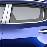 Nissan Maxima Chrome Pillar Post Trim, 2016, 2017, 2018