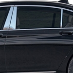 BMW 7-Series Chrome Pillar Post Trim, 2016, 2017, 2018