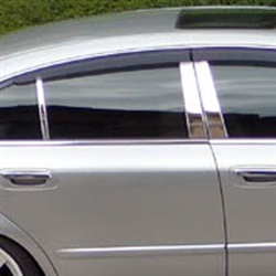 Infiniti Q45 Chrome Pillar Post Trim, 2002, 2003, 2004, 2005, 2006