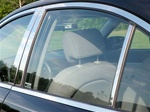 BMW 5-Series Chrome Pillar Post Trim, 1989, 1990, 1991, 1992, 1993, 1994, 1995