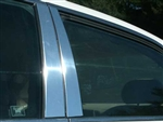 Honda Accord Chrome Pillar Post Trim, 4 piece, 2003, 2004, 2005, 2006, 2007