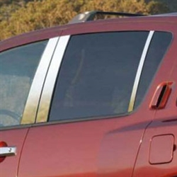 Infiniti QX56 Chrome Pillar Post Trim, 2004, 2005, 2006, 2007, 2008, 2009, 2010