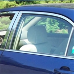 Toyota Corolla Chrome Pillar Post Trim, 6pc..Set, 2003, 2004, 2005, 2006, 2007, 2008