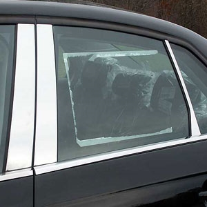 Volkswagen Jetta Chrome Pillar Post Trim, 2005, 2006, 2007, 2008, 2009, 2010
