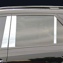Mercedes ML Chrome Pillar Post Trim, 2006, 2007, 2008