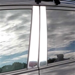Toyota Rav4 Chrome Pillar Post Trim, 2006, 2007, 2008, 2009, 2010, 2011, 2012