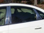 Hyundai Azera Chrome Pillar Post Trim, 10pc  2006 - 2011