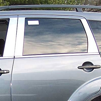 Mitsubishi Outlander Chrome Pillar Post Trim,  2007 - 2009