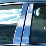 Toyota Camry Chrome Pillar Post Trim, 6pc. Set, 2002, 2003, 2004, 2005, 2006