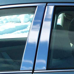 Toyota Camry Chrome Pillar Post Trim, 6pc. Set, 2007, 2008, 2009, 2010, 2011