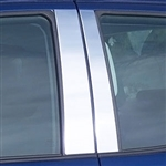 Toyota Tundra Chrome Pillar Post Trim, 2001, 2002, 2003, 2004, 2005, 2006