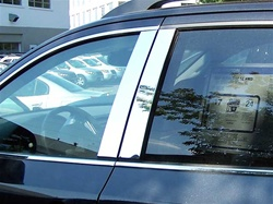 Hyundai Veracruz Chrome Pillar Post Trim, 2007, 2008, 2009, 2010, 2011, 2012