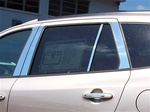 Hyundai Santa Fe Chrome Pillar Post Trim, 8pc  2007 - 2012