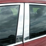 Mazda 3 Hatchback or Sedan Chrome Pillar Post Trim, 2004 - 2009