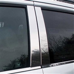 Honda Pilot Chrome Pillar Post Trim,  2003 - 2008