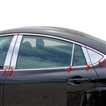 Mazda 6 Chrome Pillar Post Trim, 10pc  2009 - 2013