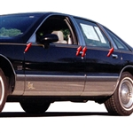 1992-2006 Ford Crown Victoria Pillar Post Trim