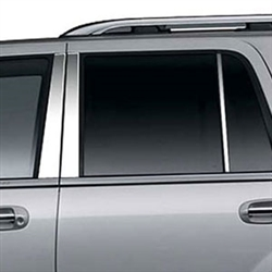 Lincoln Navigator Chrome Pillar Post Trim, 1998 - 2014