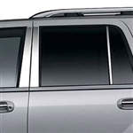 Ford Expedition Chrome Pillar Post Trim, 1997 - 2014