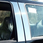 Ford Super Duty Crew Cab Chrome Pillar Post Trim, 1999, 2000, 2001, 2002, 2003, 2004, 2005, 2006, 2007, 2008, 2009, 2010, 2011, 2012, 2012, 2013, 2014, 2015, 2016