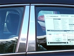 Chrysler Concorde Chrome Pillar Post Trim, 4pc  2000 - 2003