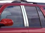 Buick Rainier Chrome Pillar Post Trim, 4pc  2004 - 2008