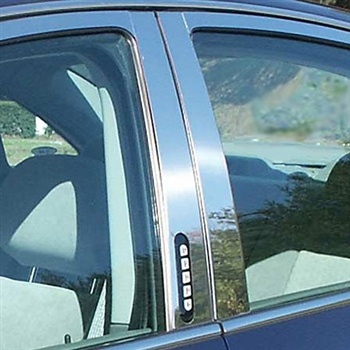 Ford Five Hundred Chrome Pillar Post Trim, 2005, 2006, 2007