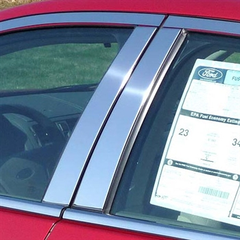 Ford Fusion Chrome Pillar Post Trim,  2006 - 2012