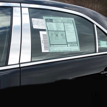Lincoln MKZ Chrome Pillar Post Trim, 2007, 2008, 2009, 2010, 2011, 2012