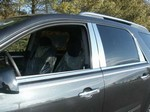 Saturn Outlook Chrome Pillar Post Trim, 2007-2010
