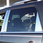 GMC Acadia Chrome Pillar Post Trim, 2007, 2008, 2009, 2010, 2011, 2012, 2013, 2014, 2015