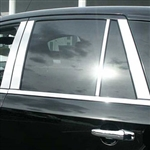Lincoln MKX Chrome Pillar Post Trim, 2007, 2008, 2009, 2010, 2011, 2012, 2013, 2014, 2015