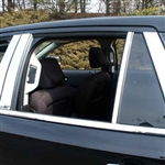 Ford Edge Chrome Pillar Post Trim, 2007, 2008, 2009, 2010, 2011, 2012, 2013, 2014