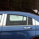 Chrysler Sebring Chrome Pillar Post Trim, 10pc  2007 - 2010