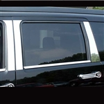 Dodge Nitro Chrome Pillar Post Trim, 6pc  2007 - 2011