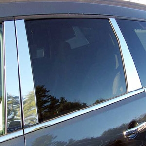 Hyundai Tucson Chrome Pillar Post Trim, 6pc  2005 - 2009
