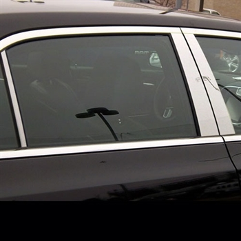 Chrysler 300 Chrome Pillar Post Trim, 2011, 2012, 2013, 2014, 2015, 2016