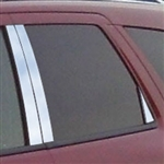 Dodge Durango Chrome Pillar Post Trim, 4pc  2004 - 2010