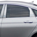 Chrysler 200 Chrome Pillar Post Trim, 2015, 2016, 2017