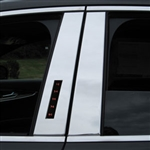Lincoln MKX Chrome Pillar Post Trim, 2016, 2017, 2018
