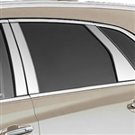Cadillac XT5 Chrome Pillar Post Trim, 10pc. Set, 2017