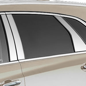 Cadillac XT5 Chrome Pillar Post Trim, 10pc. Set, 2017, 2018