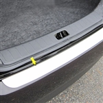 Nissan Versa Sedan Chrome Rear Bumper Trim, 2012, 2013, 2014, 2015, 2016