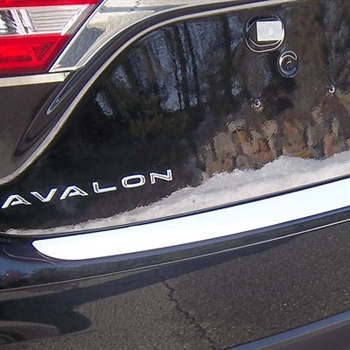 Toyota Avalon Chrome Rear Bumper Trim, 2013, 2014, 2015, 2016, 2017, 2018