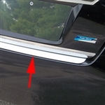 Nissan Altima Sedan Chrome Rear Bumper Trim, 2013, 2014