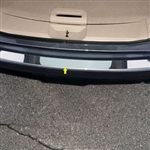Nissan Rogue Chrome Rear Bumper Trim, 2014, 2015, 2016, 2017