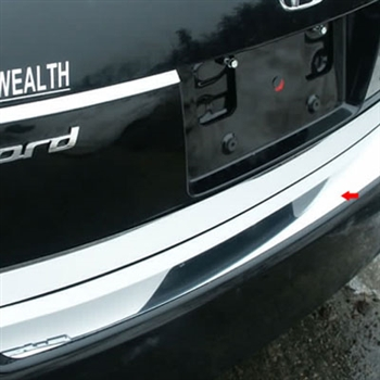 2008 - 2012 Honda Accord Stainless Steel Rear Bumper Trim